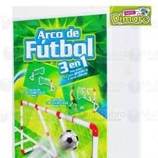 ARCO DE FUTBOL 3 EN 1  0198