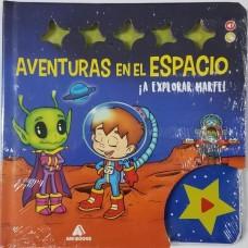 LIBRO AVENTURAS EN EL ESPACIO EXPLORAR/PERSEGUIR