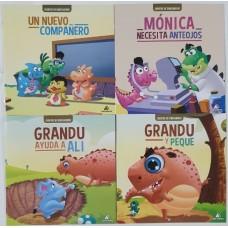LIBRO CUENTOS DE DINOSAURIOS