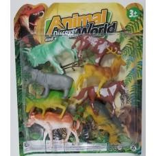 BLISTER DE ANIMALES X8PZAS 01777B