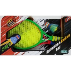 BADMINTON & RACKETS BALL DITOYS 2178