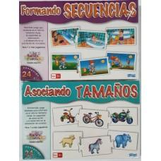 JUEGO TAMANOS Y SECUENCIAS
