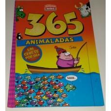 LIBRO 365 ANIMALADAS T/DURA