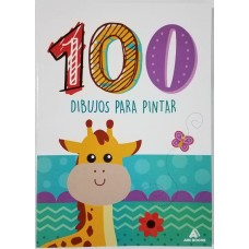 LIBRO 100 DIBUJOS PARA PINTAR