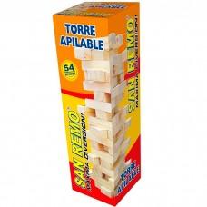 TORRE APILABLE MADERA 54PZAS