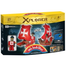 MIS LADRILLOS XPLORER 85PZAS X-85
