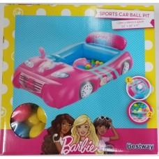 -PELOTERO CAR BALL BARBIE 93207