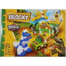 BLOCKY DINOSAURIOS 150PZAS 0678